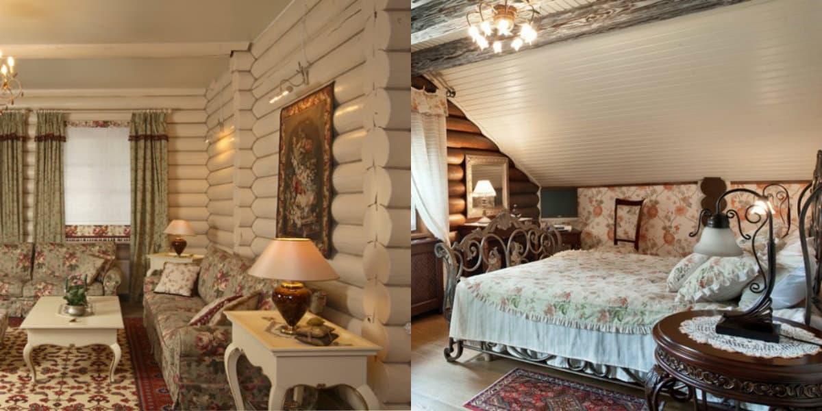 Интерьер в стиле Кантри : деревенский дом