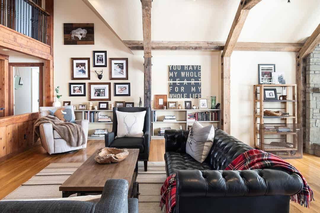 интерьер-дома-в-деревенском-стиле
