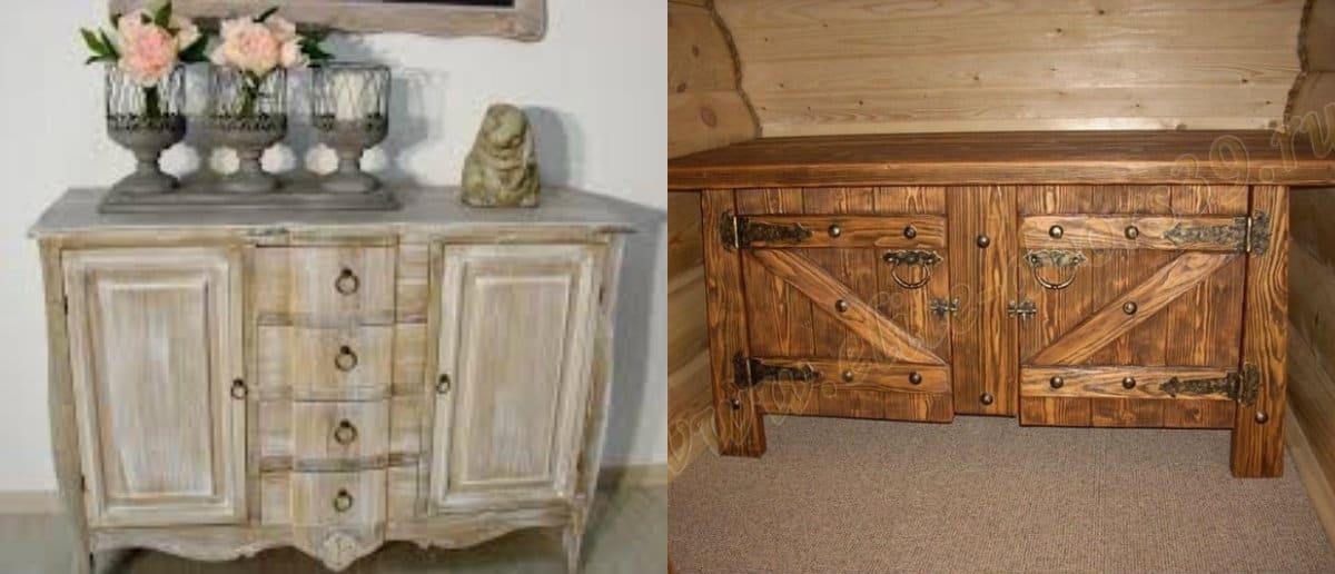 Мебель в стиле Кантри: винтаж
