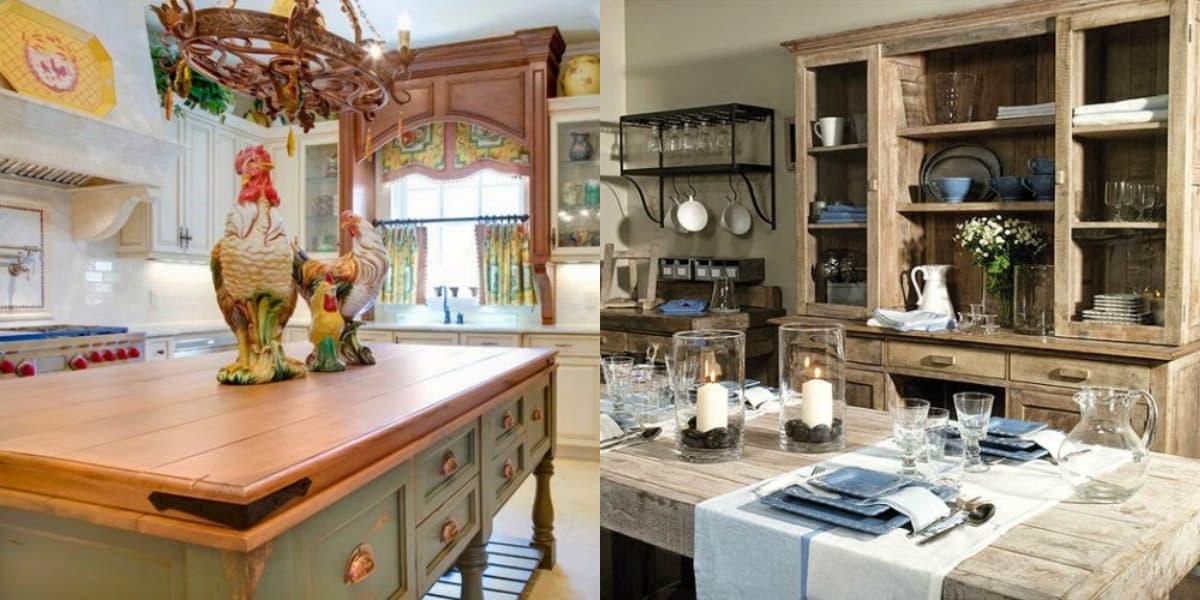 Мебель в стиле Кантри: провансальский интерьер