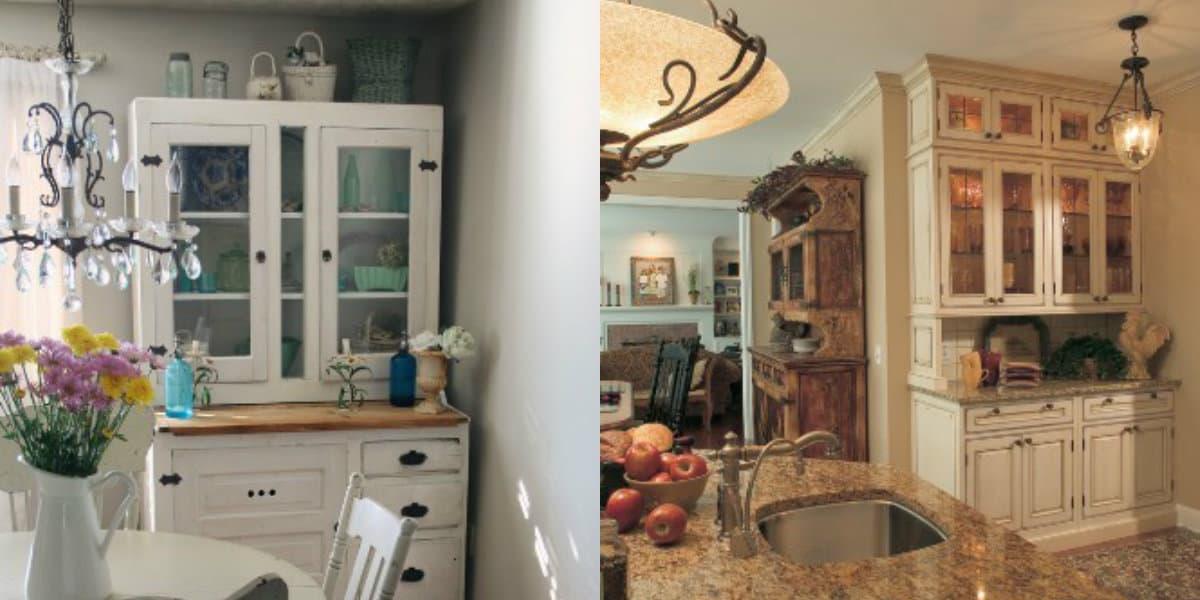 Мебель в стиле Кантри: шкафы