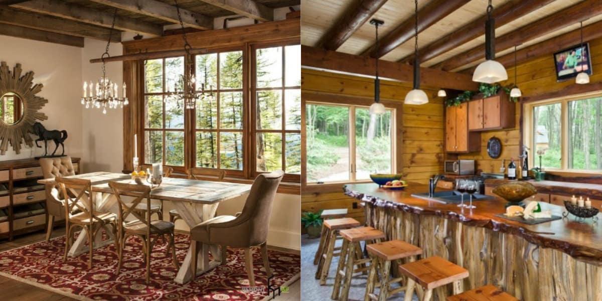 Мебель в стиле Кантри: альпийская мебель