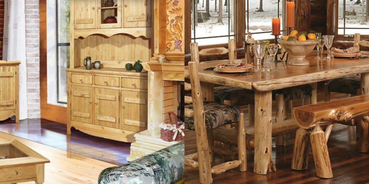 Мебель в стиле Кантри: шале