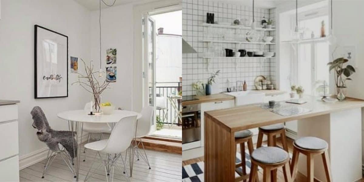 Скандинавский стиль в интерьере: кухня