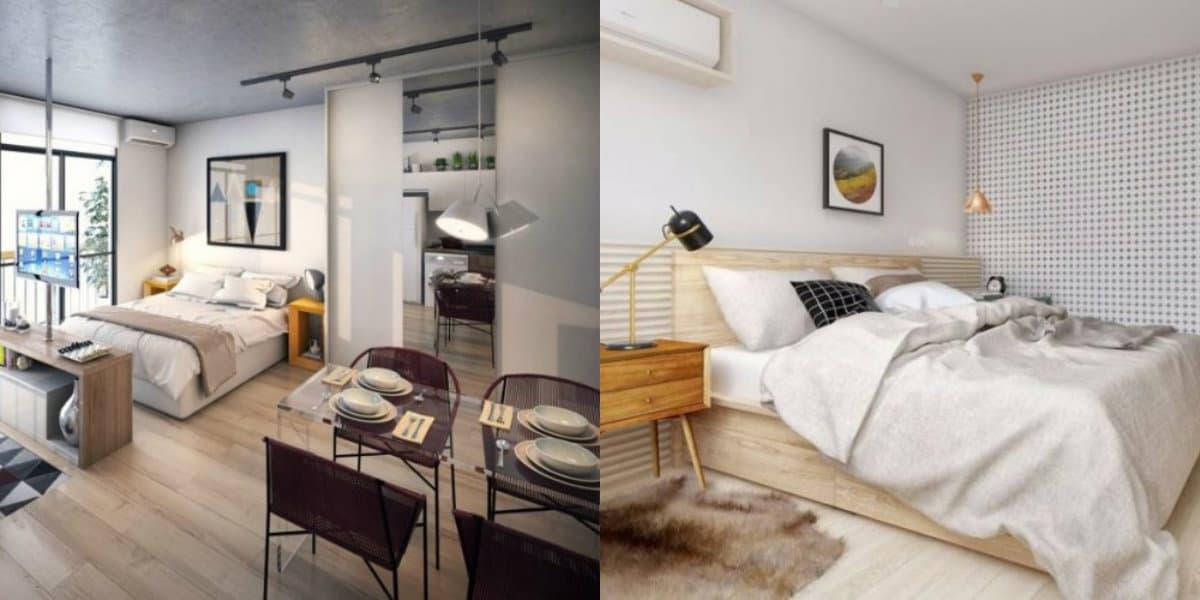 Спальня в скандинавском стиле: варианты планировки