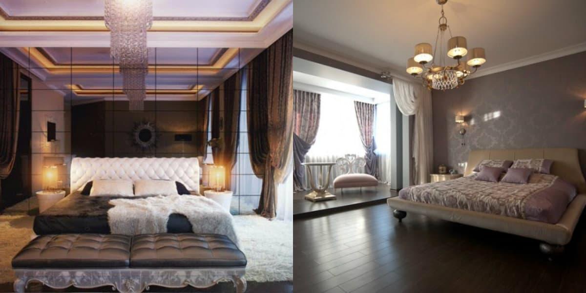 Спальня в стиле Арт деко : светильники