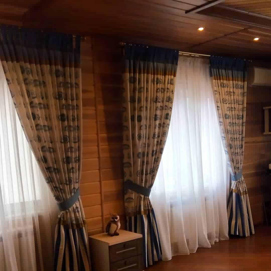 шторы-на-кухню-в-деревенском-стиле