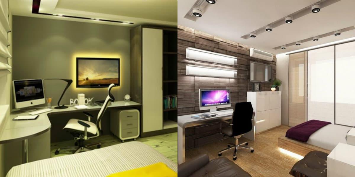 Комната в стиле минимализм: цвет