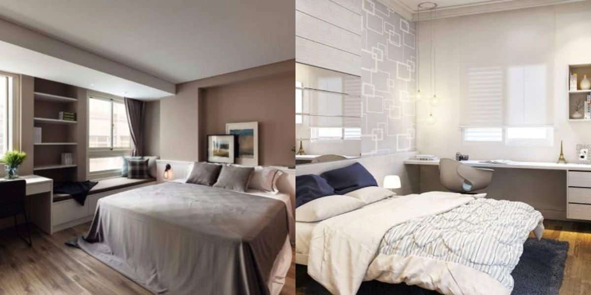 Комната в стиле минимализм: текстиль