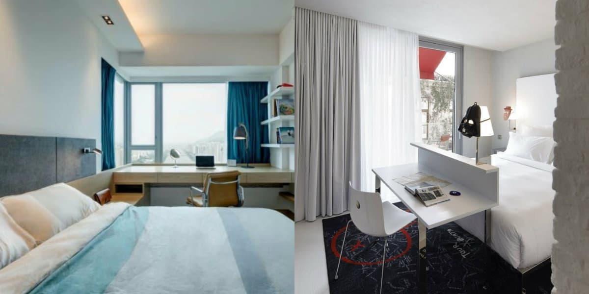 Комната в стиле минимализм: оформление окон