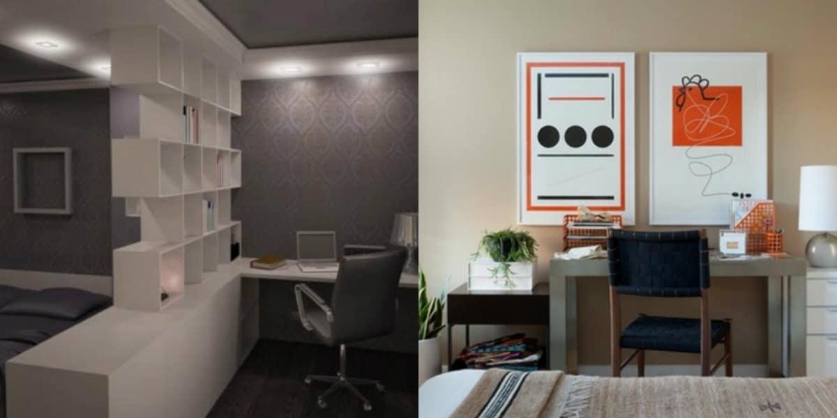 Комната в стиле минимализм: стеллаж