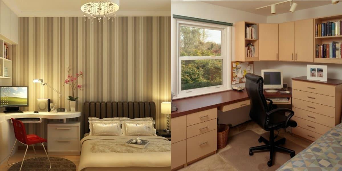 Комната в стиле минимализм: арбочее место