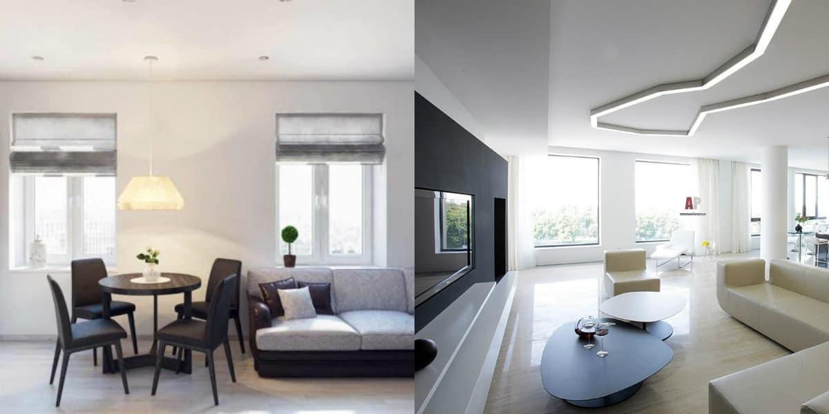 Дизайн квартиры в стиле Минимализм : отделка