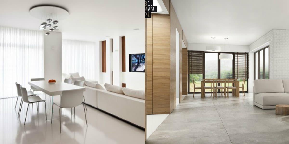 Дизайн квартиры в стиле Минимализм : белый дизайн