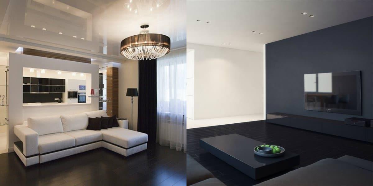 Дизайн квартиры в стиле Минимализм : цвет
