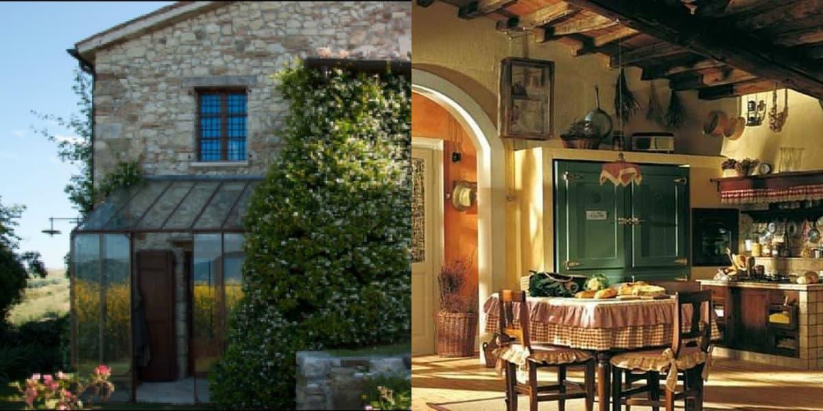 Дом в итальянском стиле: кухня
