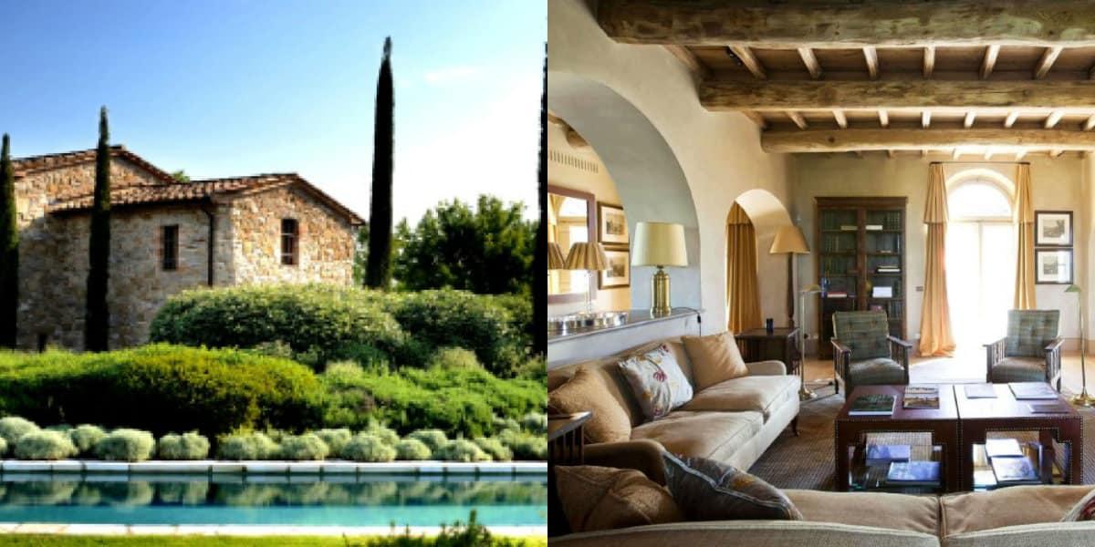 Дом в итальянском стиле: кандшафтный дизайн