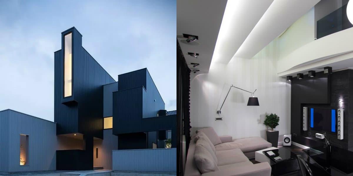 Дом в стиле хай тек: экстерьер