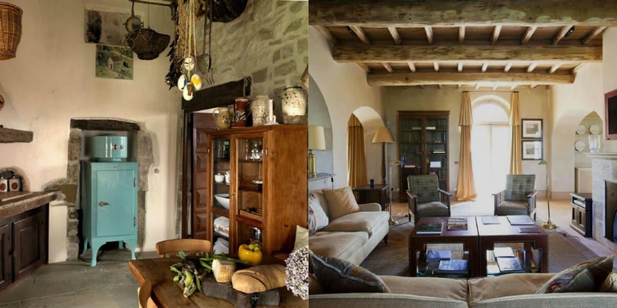 Итальянский стиль в интерьере: Тосканский дизайн
