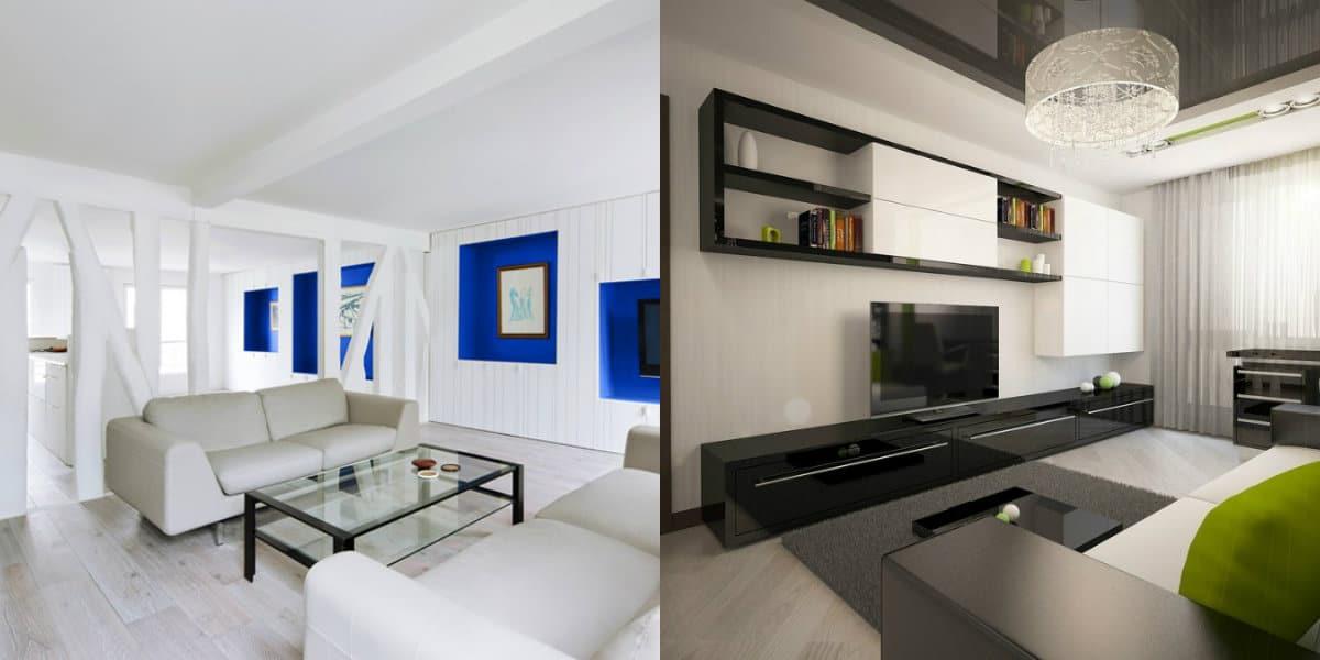 Квартира в стиле Минимализм: навесные шкафы