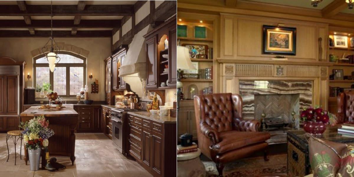 Мебель в английском стиле: кухня