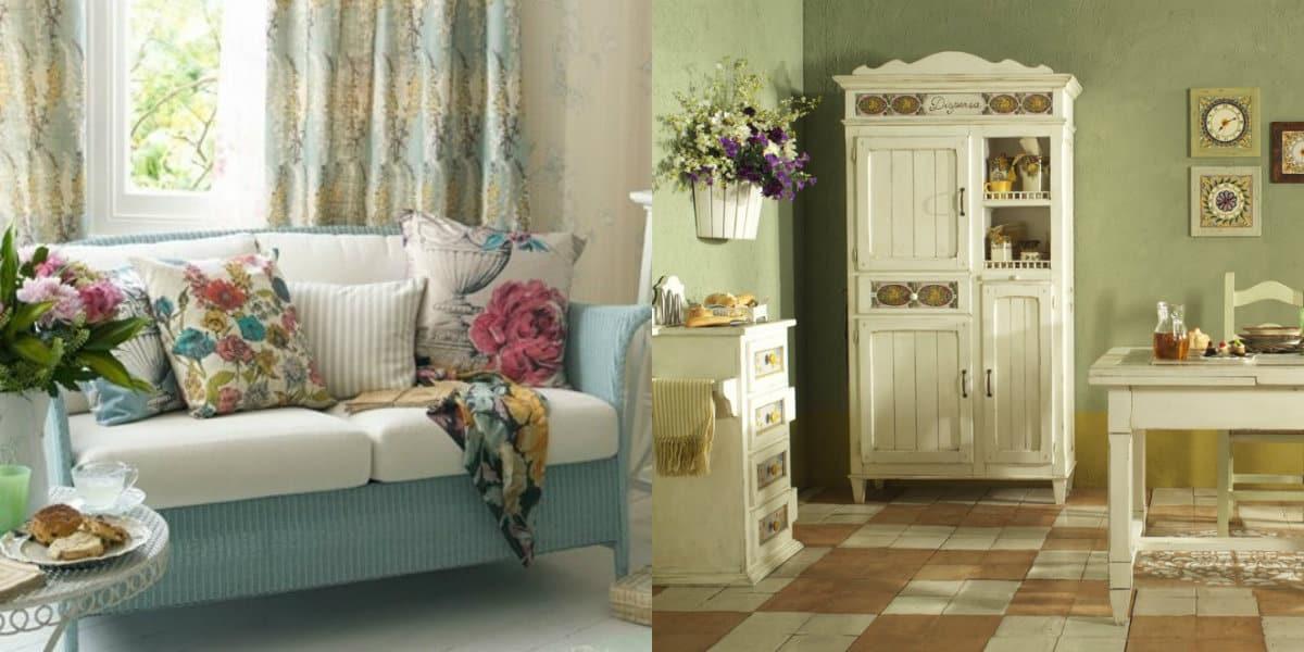 Мебель в стиле Прованс: диван