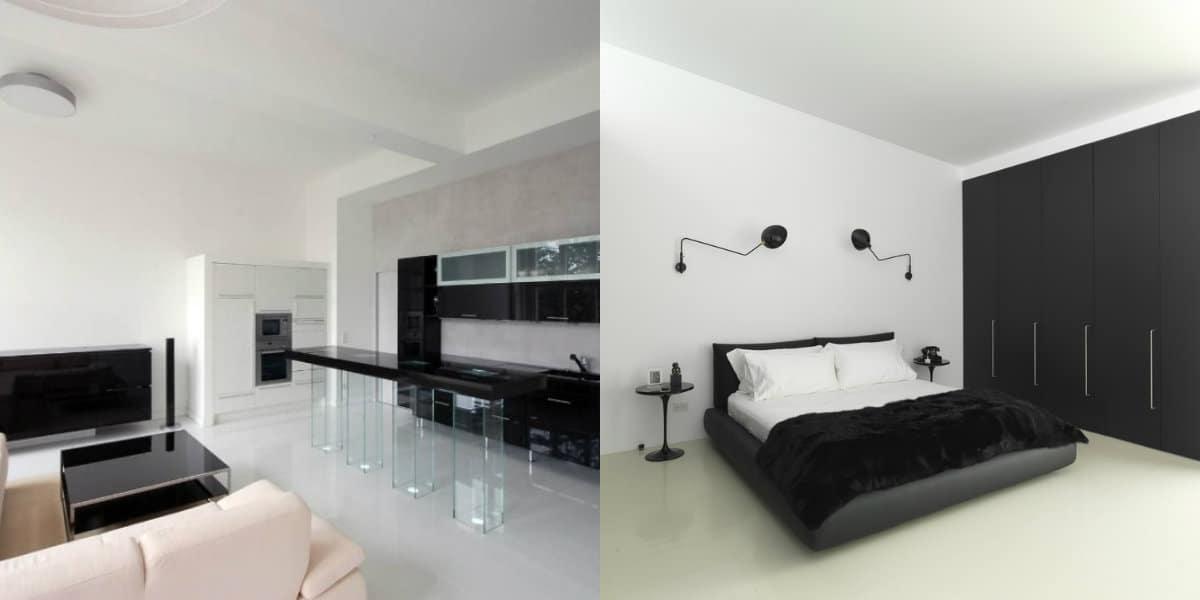 Мебель в стиле минимализм: барная стойка