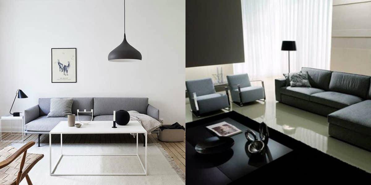 Мебель в стиле минимализм: журнальный столик
