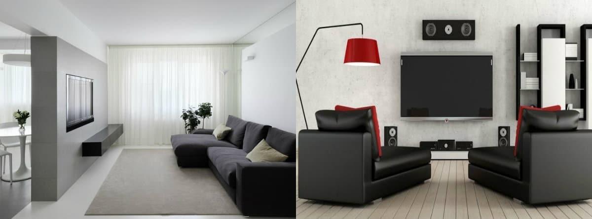 Мебель в стиле минимализм: кресла