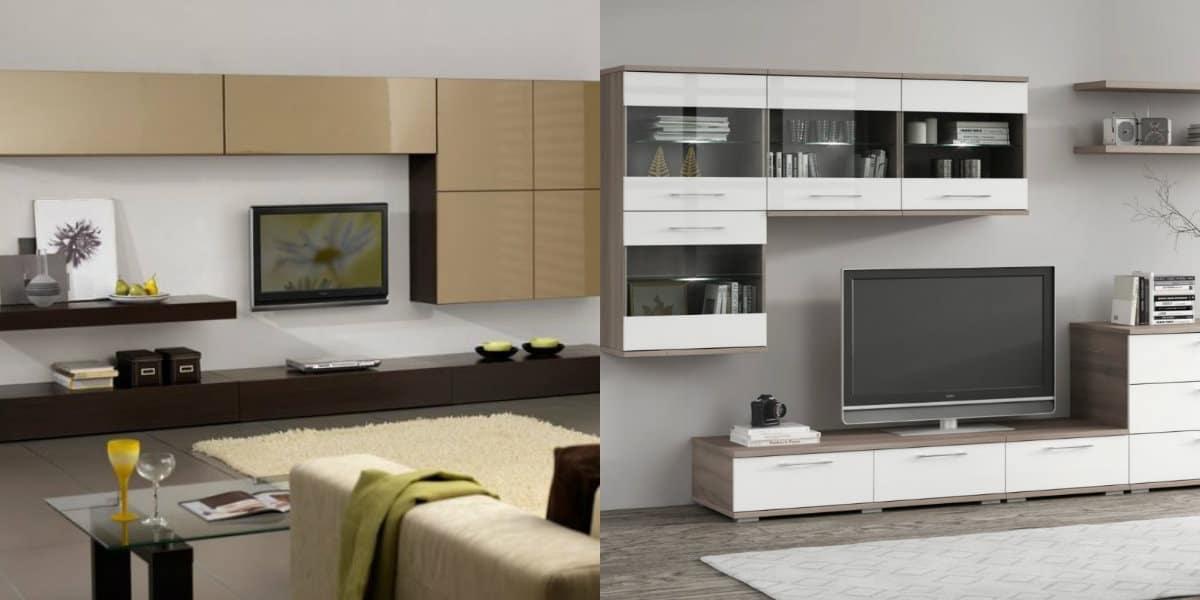 Мебель в стиле минимализм: навесные шкафы
