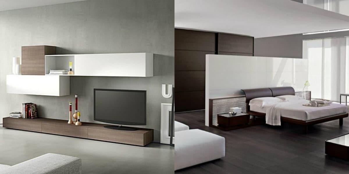 Мебель в стиле минимализм: кровать