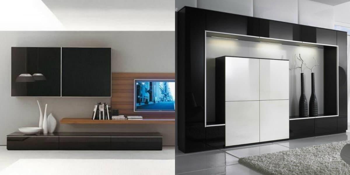 Мебель в стиле минимализм: шкаф