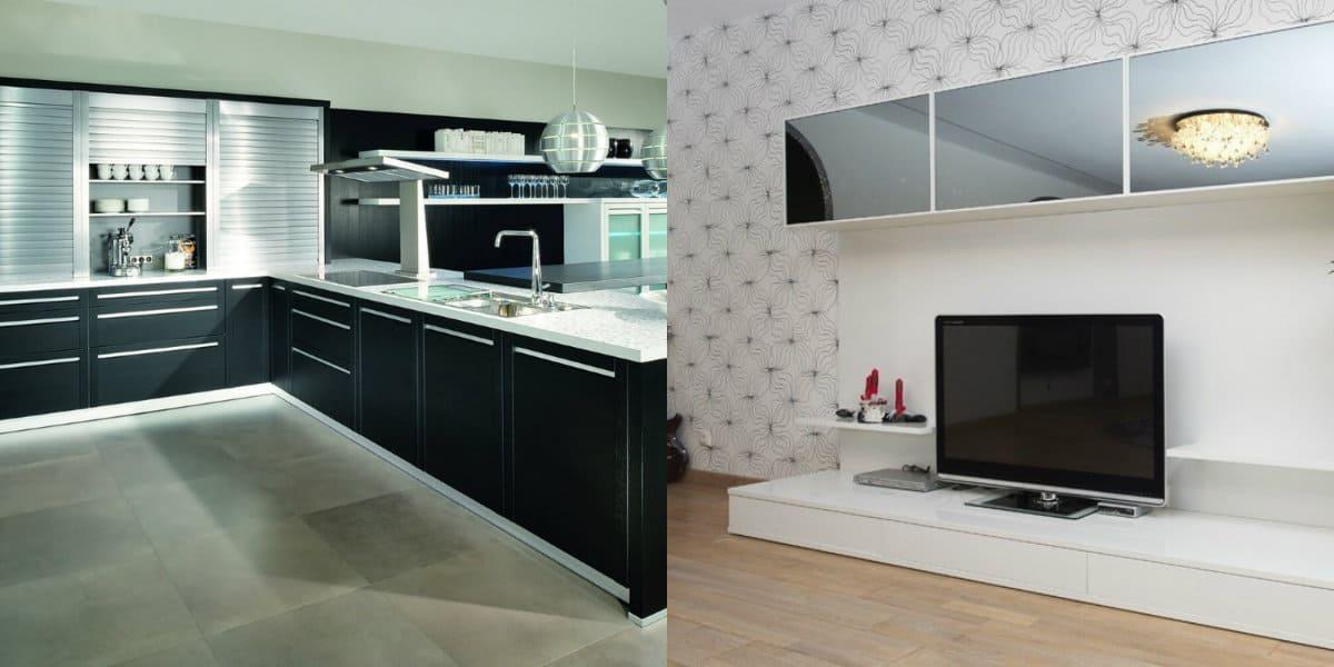 Мебель в стиле минимализм: гостиная