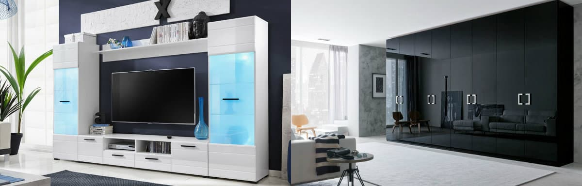 Мебель в стиле минимализм: системы хранения