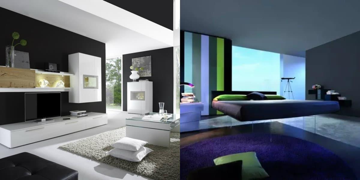 Мебель в стиле хай тек : парящая кровать