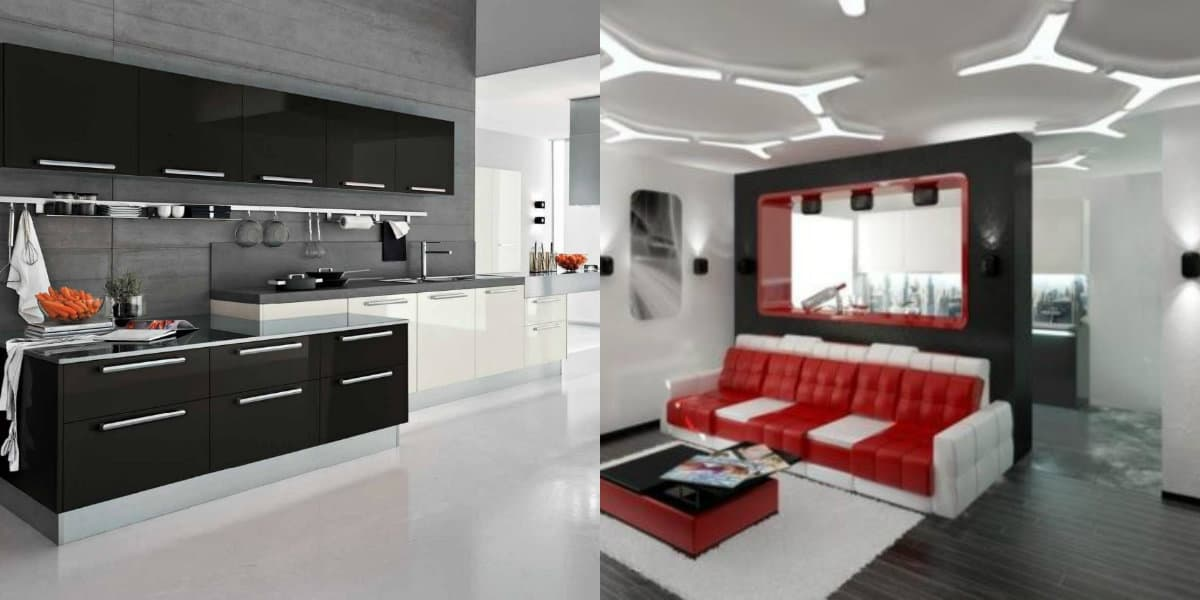 Мебель в стиле хай тек : системы хранения