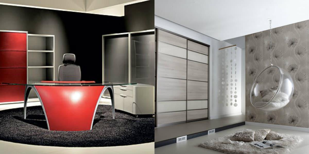 Мебель в стиле хай тек : кресла