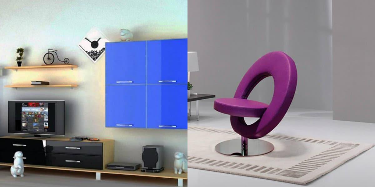 Мебель в стиле хай тек : кресло