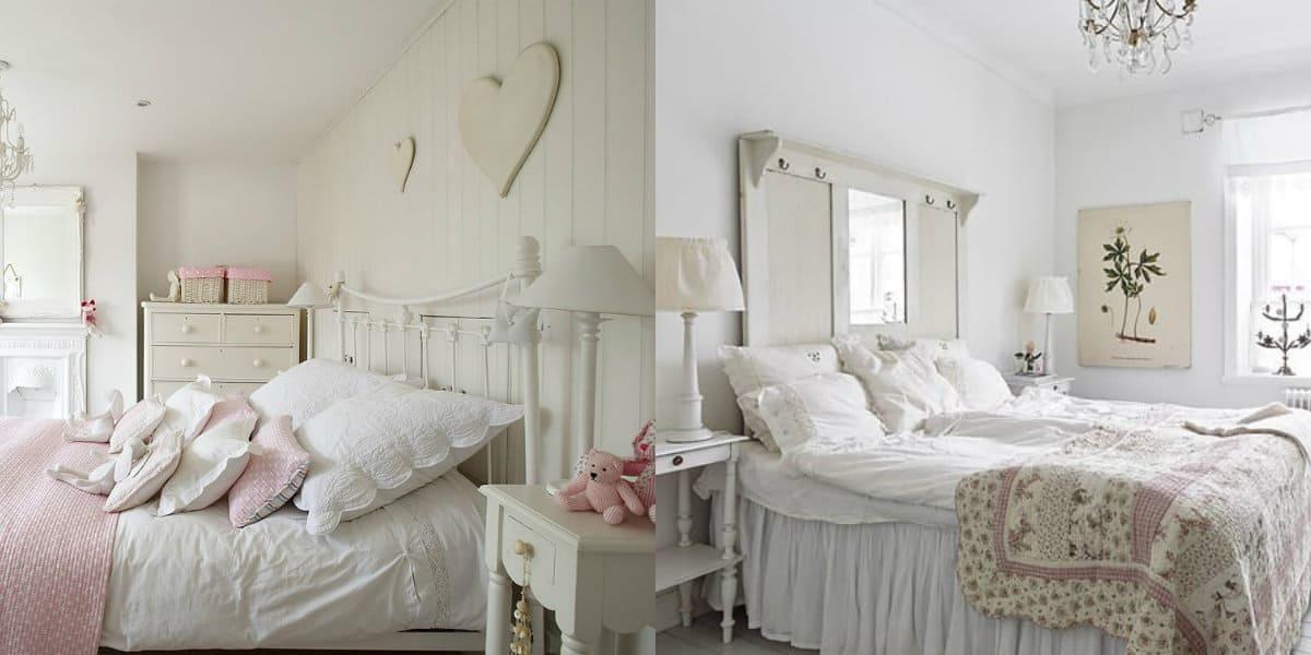 Спальня в английском стиле : подушки