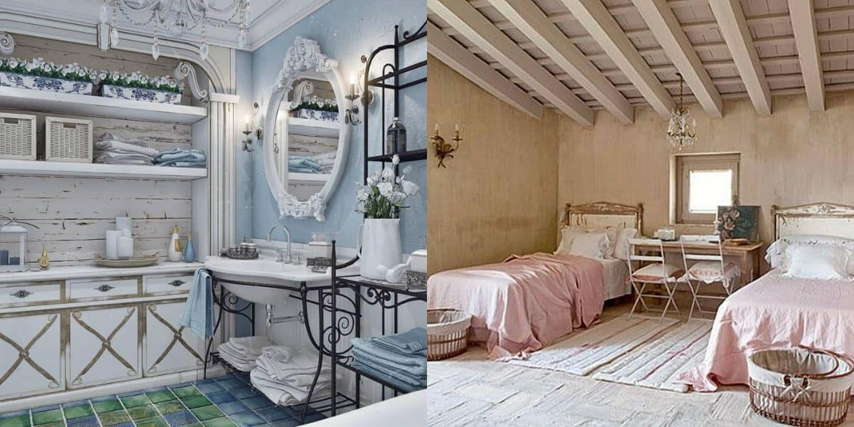 Стиль Прованс в интерьере: спальня