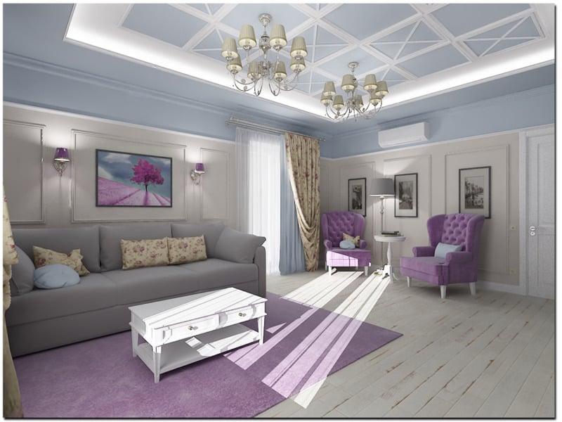 гостиная-в-стиле-прованс