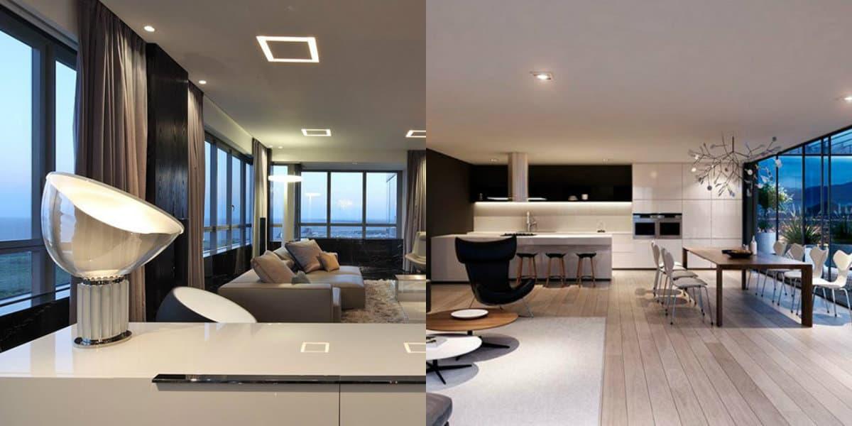 Дизайн квартиры в стиле хай тек: кресло