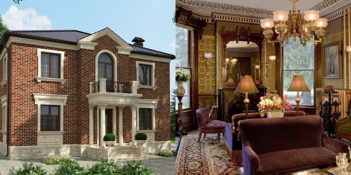 Дом в английском стиле : экстерьер