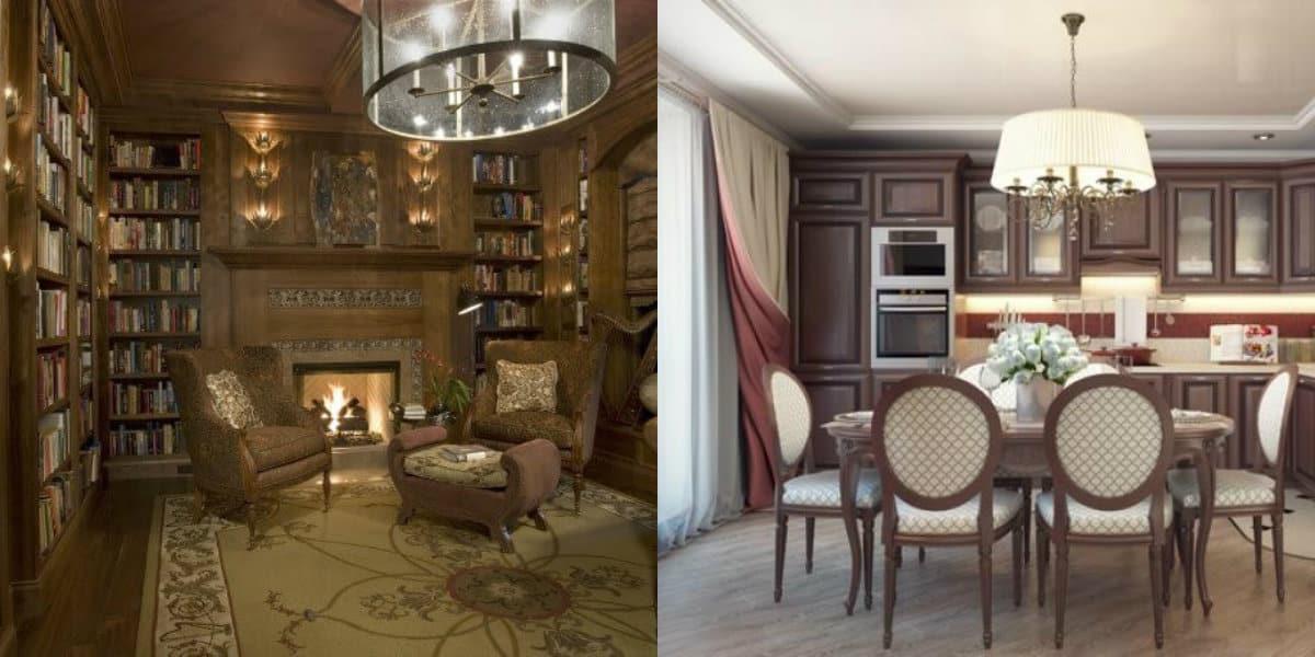 Интерьер в английском стиле: мебель