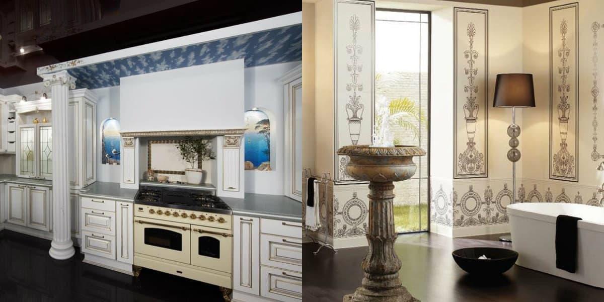 Интерьер в итальянском стиле : кухня