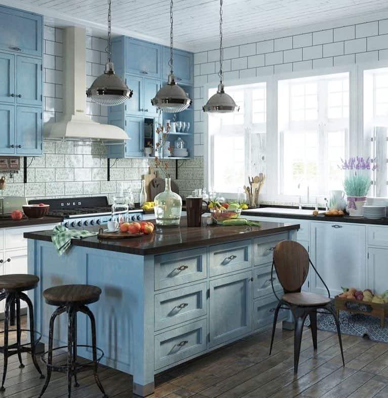 кухня-стиль-прованс-в-доме
