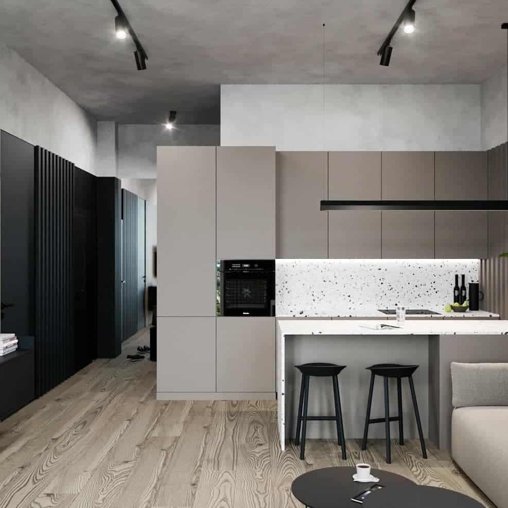 стиль-хай-тек-в-интерьере-квартиры