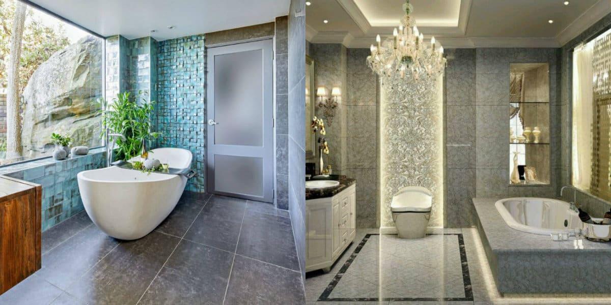 ванная комната 2019: форма ванной