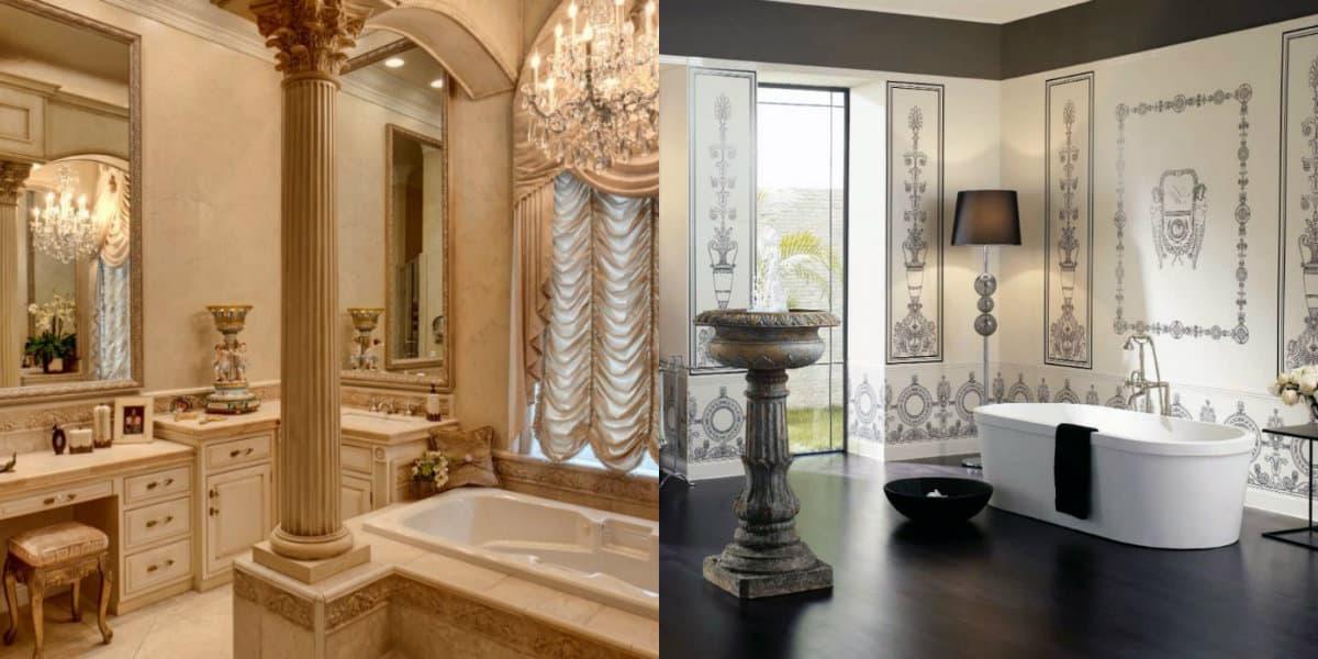 ванная комната 2019: классический дизайн