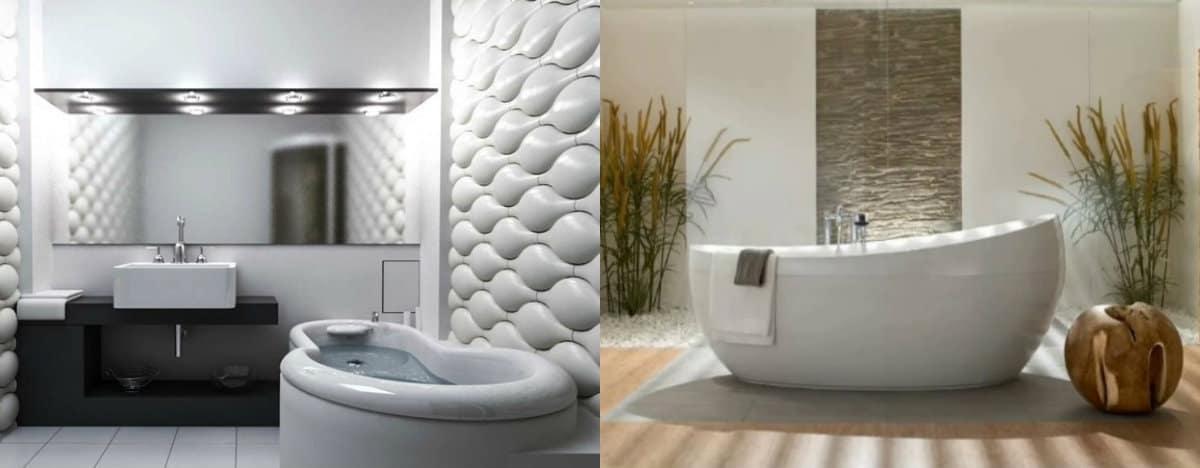 ванная комната 2019: японский стиль